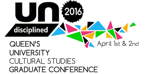 Undisciplined! Graduate student conference April 1-2