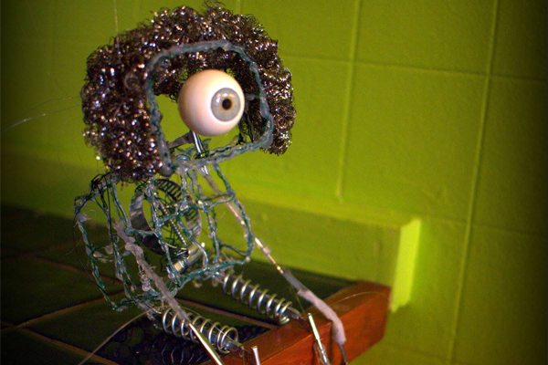 Cyclop Robot - creation of Pia Banzhaf